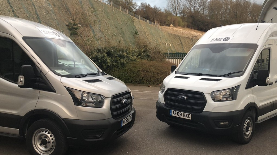 Ford provide 200 vehicles to support the NHS