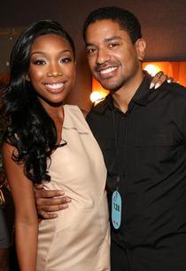 Brandy Norwood and Ryan Press | Photo Credits: Christopher Polk/Getty Images