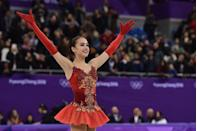 """<p><a href=""""https://www.insider.com/figure-skating-dresses-sheer-panels-2018-2"""" rel=""""nofollow noopener"""" target=""""_blank"""" data-ylk=""""slk:Figure skaters"""" class=""""link rapid-noclick-resp"""">Figure skaters</a> don't have a set uniform, but there are major rules. One of them is that there can be no excessive nudity. That's exactly why you see so flesh-toned panels — to give the illusion of skin without breaking rules. </p>"""