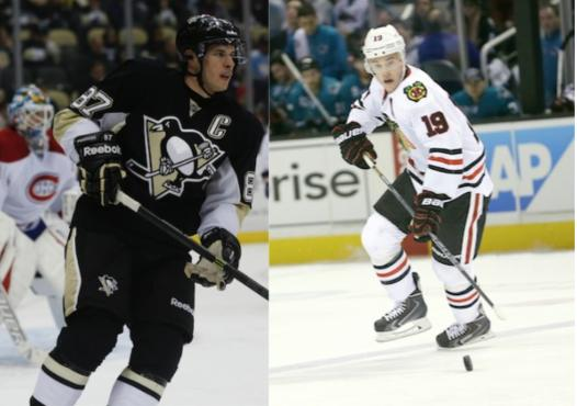 low cost 7a50f ce313 Sidney Crosby, Jonathan Toews finally meet as rivals in NHL ...