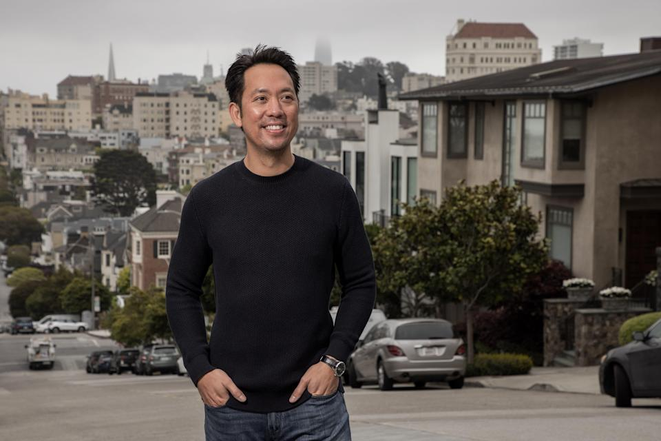 Eric Wu, CEO of Opendoor.  Founded in 2014, San Francisco-based Opendoor has been credited with disrupting the $1.6 trillion residential real estate market in the U.S. by creating a whole new iBuyer or instant buyer category.