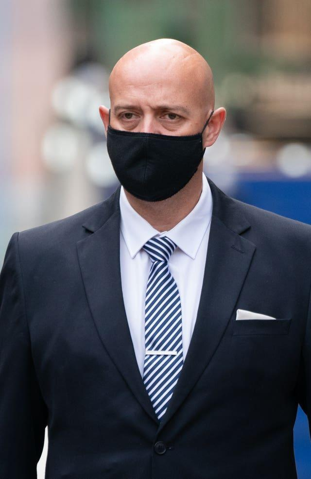 Pc Benjamin Monk was cleared of murder but convicted of manslaughter