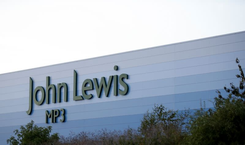 A John Lewis warehouse is pictured at Magna Park in Milton Keynes