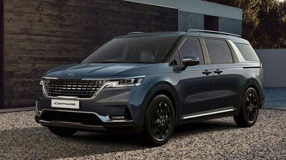 2022 Kia Carnival to debut in US on February 23