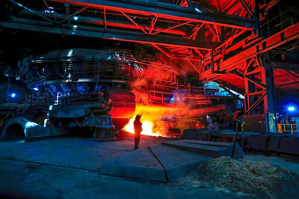 <p>British Steel workers were wrongly advised to move from company pension</p> (AFP/Getty Images)