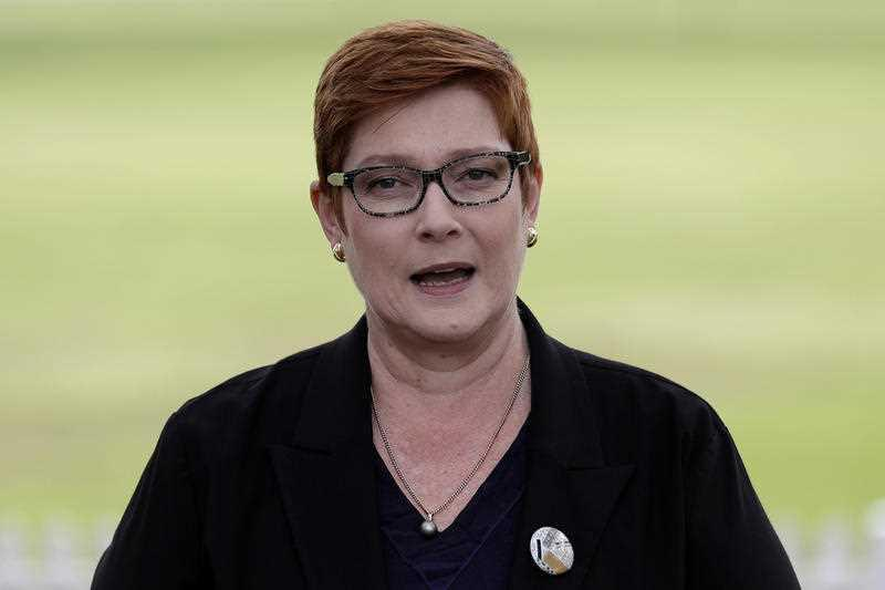 Marise Payne released a statement on Wednesday critical of Beijing's move to implement the laws. Source: AAP