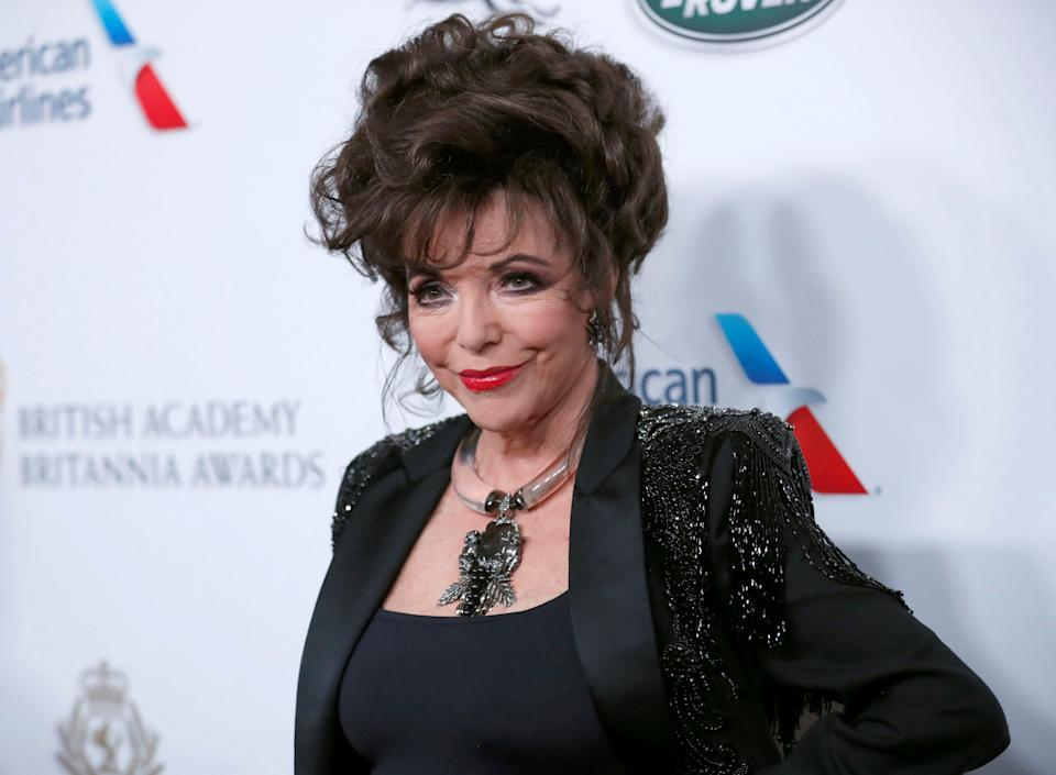 Joan Collins speaks out against cancel culture