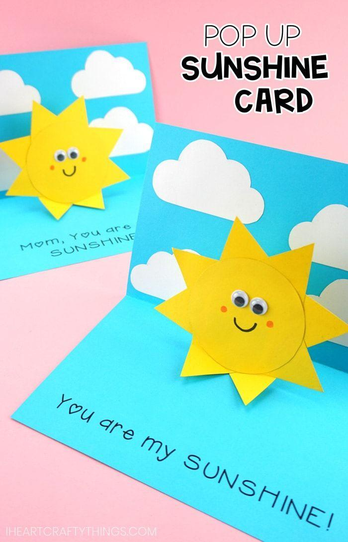 "<p>Without him, life would be dull and grey. With this sunny card, shower him with the same cheer that he brings to your life day in and day out. </p><p><u><em><a href=""https://iheartcraftythings.com/you-are-my-sunshine-card.html"" rel=""nofollow noopener"" target=""_blank"" data-ylk=""slk:Get the tutorial at I Heart Crafty Things »"" class=""link rapid-noclick-resp"">Get the tutorial at I Heart Crafty Things »</a></em></u></p><p><strong>RELATED:</strong> <a href=""https://www.goodhousekeeping.com/holidays/fathers-day/g4325/diy-fathers-day-gifts/"" rel=""nofollow noopener"" target=""_blank"" data-ylk=""slk:18 DIY Father's Day Gifts That Are Surprisingly Easy to Make"" class=""link rapid-noclick-resp"">18 DIY Father's Day Gifts That Are Surprisingly Easy to Make</a><br></p>"