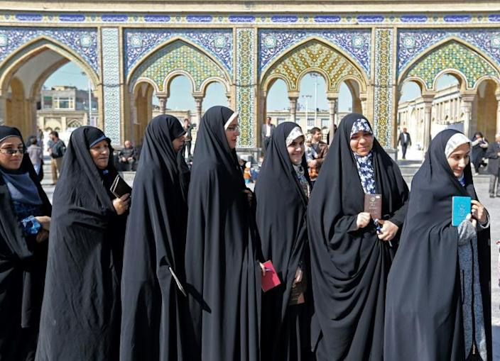 Iran's general election was marked by the lowest turnout since the 1979 Islamic Revolution (AFP Photo/ATTA KENARE)