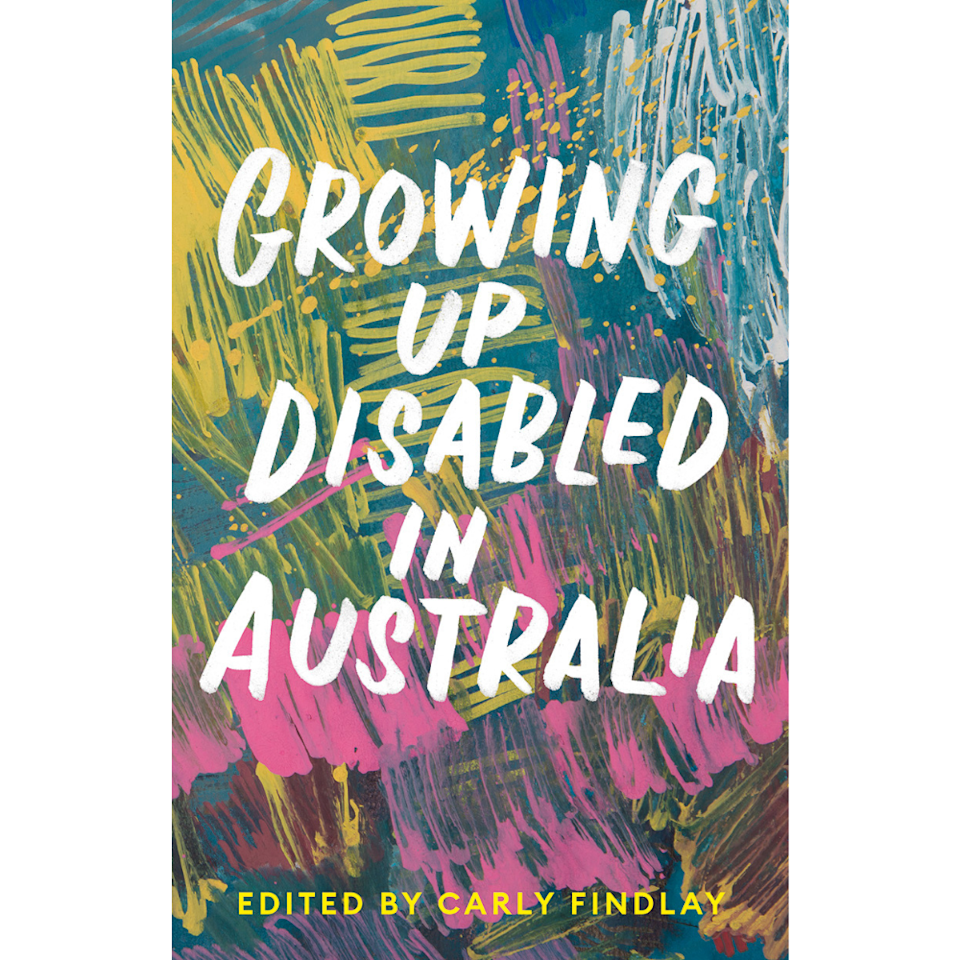 the 2021 cover of growing up disabled in Australia