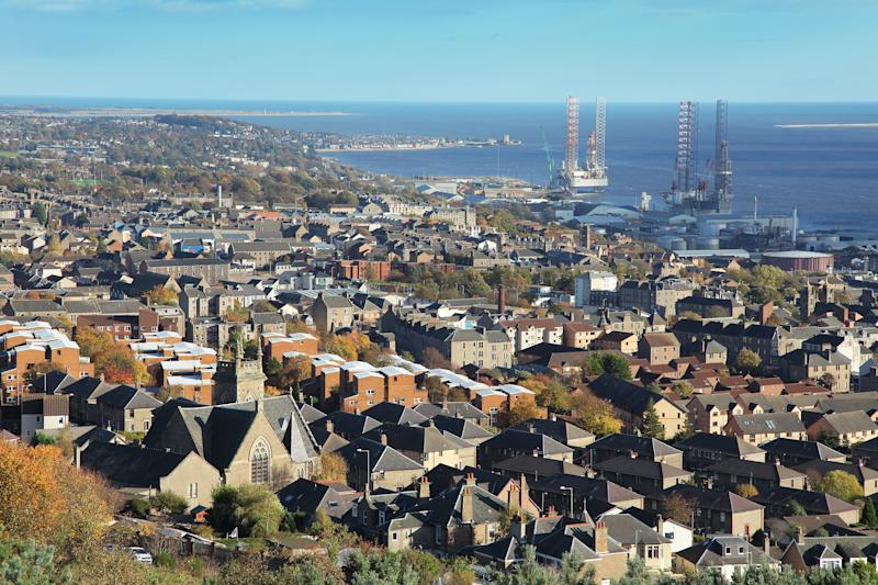 The city of Dundee sits on Scotland's longest river - Peter Burnett