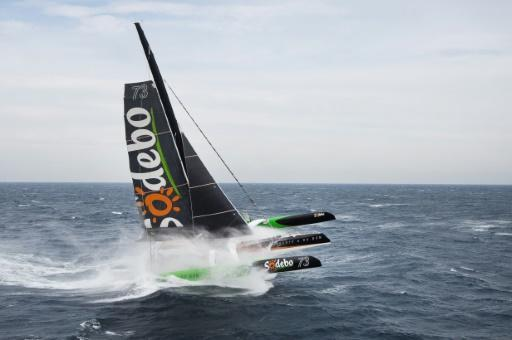 Frenchman pulverises solo yachting round the world record