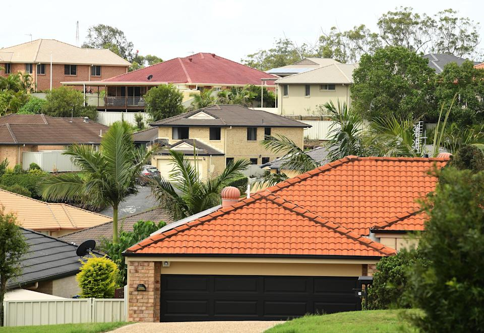 Residential property is seen on the Gold Coast, Tuesday, March 21, 2017. (AAP Image/Dave Hunt)