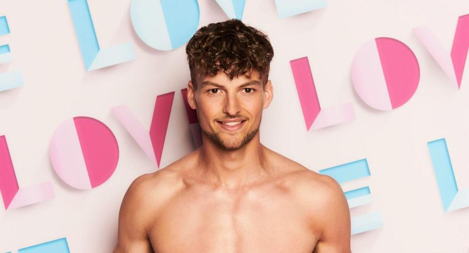 Hugo Hammond was unlucky in love during his stay in the 'Love Island' villa. (ITV)