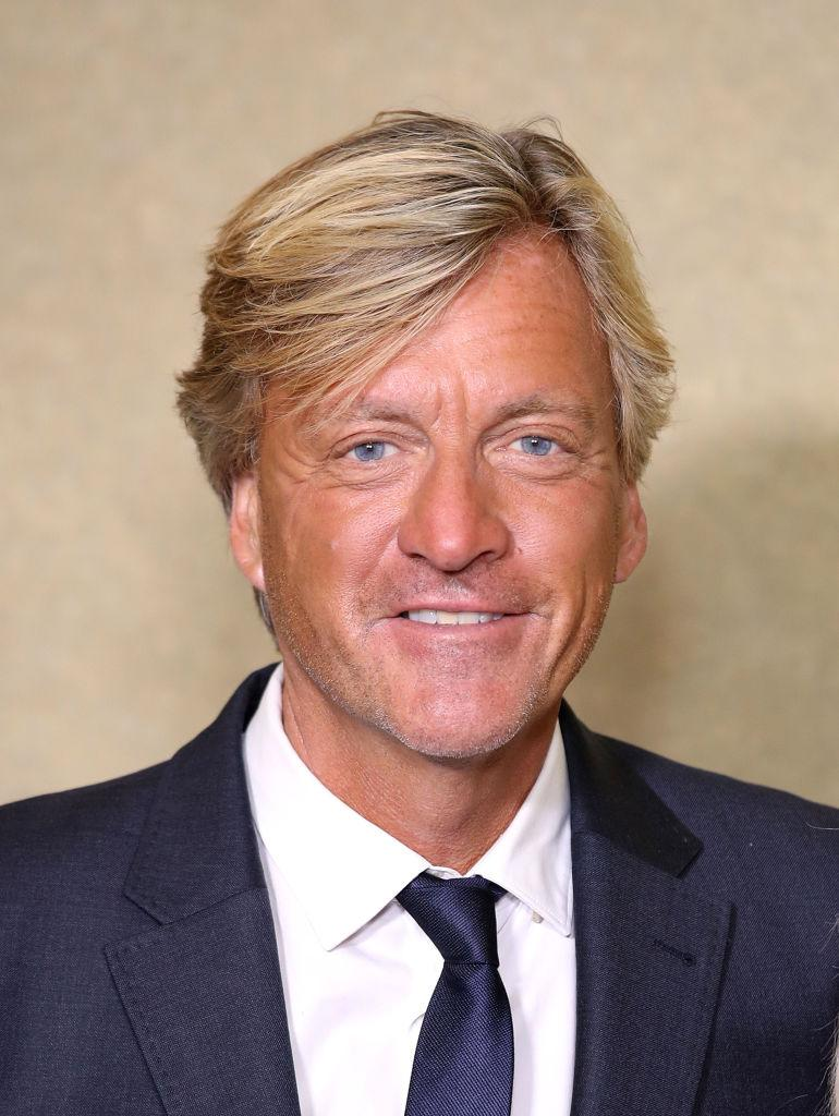Richard Madeley made the top three, pictured in October 2018. (Getty Images)