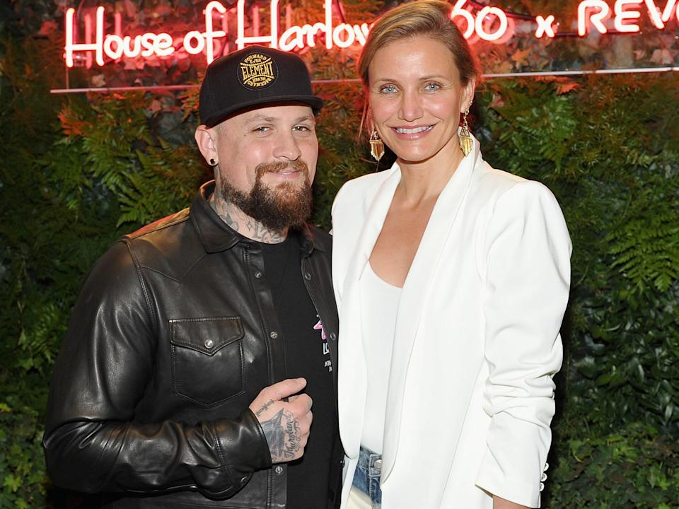Diaz married American musician Benji Madden in 2015.