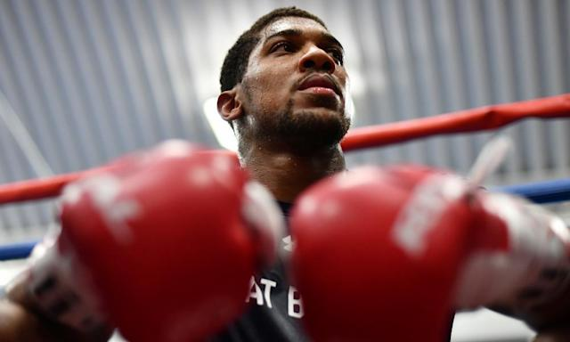 "<span class=""element-image__caption"">Anthony Joshua was 'planning for a massive showdown with Tyson Fury this summer', but will instead face Wladimir Klitschko.</span> <span class=""element-image__credit"">Photograph: Dan Mullan/Getty Images</span>"