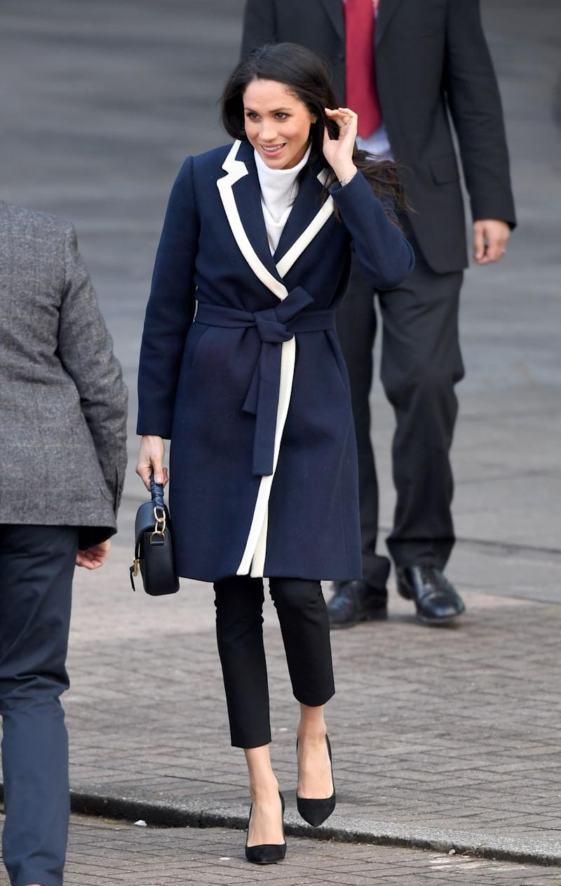 dc6627d57 Meghan Markle and Pippa Middleton Rocked the Same Affordable J.Crew ...