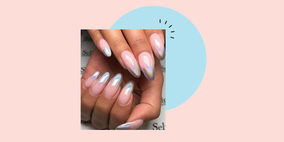 """<p>Forget <a href=""""https://www.cosmopolitan.com/uk/beauty-hair/hair/g2699/ombre-hair/"""" rel=""""nofollow noopener"""" target=""""_blank"""" data-ylk=""""slk:ombre hair"""" class=""""link rapid-noclick-resp"""">ombre hair</a> (or don't, because it's oh-so pretty), we're moving on to gradient nails next. Yup, whatever your <a href=""""https://www.cosmopolitan.com/uk/beauty-hair/nails/g10375351/nail-shapes-trends/"""" rel=""""nofollow noopener"""" target=""""_blank"""" data-ylk=""""slk:nail shape"""" class=""""link rapid-noclick-resp"""">nail shape</a>, or length, we've got you covered with our edit of the best ombre nail-art designs.</p><p>The colour fade manicure is a super-flattering way to give the illusion of longer nails - thanks to the clever gradient effect. Not to mention it also comes in handy if you're torn between two different shades of polish - hey, why not wear both?</p><p>Plus you can create this cool effect at home. So, if you can't make it to the salon you don't have to give up hopes of your dream ombre mani. Of course, it'll always look more sleek if applied by a pro but if you have to do a DIY job, all you need is a cosmetic wedge to dab on the gradient colour for a simple two-toned look. Finish with a good top coat and you'll have everyone ooohh-ing and ahhh-ing at your nail art technique.<br></p><p>We've trawled the internet to bring you a definitive round up of the cutest ombre nail designs out there, from one of our favourite nail studios in London, <a href=""""https://www.instagram.com/mytownhouseuk/?utm_source=ig_embed"""" rel=""""nofollow noopener"""" target=""""_blank"""" data-ylk=""""slk:Townhouse"""" class=""""link rapid-noclick-resp"""">Townhouse</a>, who have totally mastered the <a href=""""https://www.cosmopolitan.com/uk/beauty-hair/nails/g28604888/ombre-nails/?slide=8"""" rel=""""nofollow noopener"""" target=""""_blank"""" data-ylk=""""slk:glitter ombre nail"""" class=""""link rapid-noclick-resp"""">glitter ombre nail</a>, btw. To Mei Kawajiri, Instagram's most viral nail artist who counts the likes of Gigi Hadid and Ariana Grande as clients.</p><"""