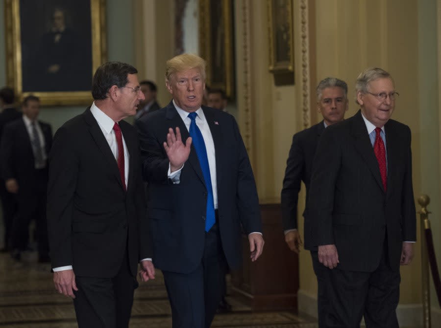 Many Republicans don't support the tax bill, but they keep moving it forward