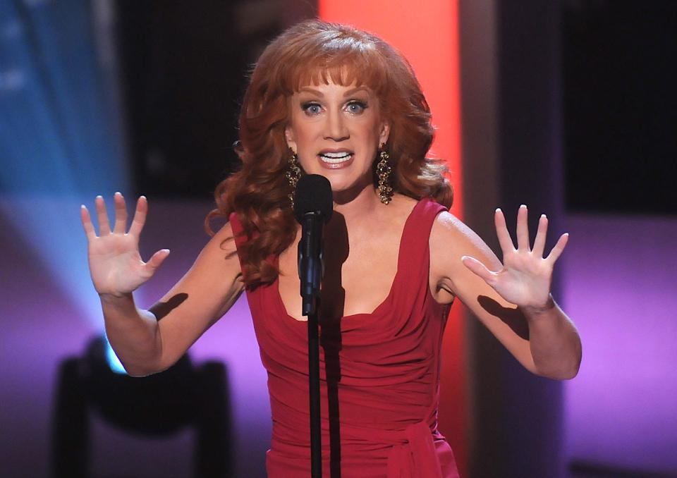 NEW YORK - JUNE 04:  Host Kathy Griffin on stage during Bravo's 1st