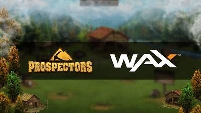 The Prospectors, One of the largest dApps in the world, to launch on WAX Blockchain