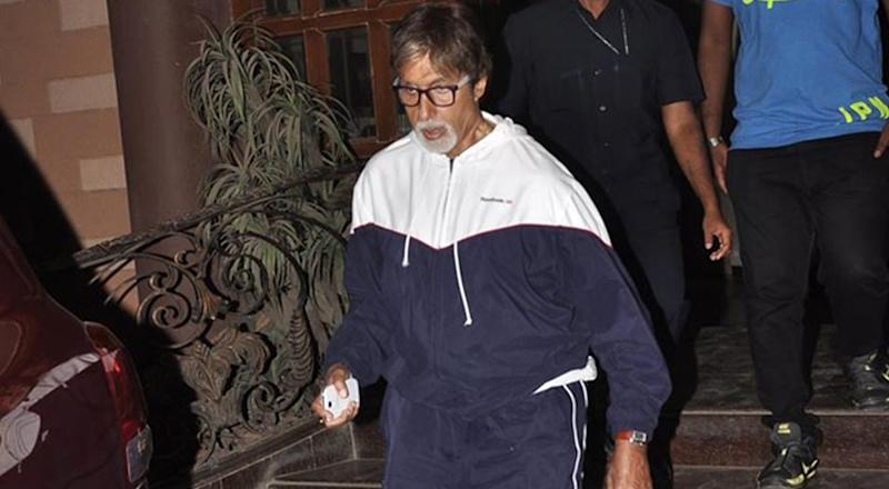 Image result for Amitabh bachchan in gym