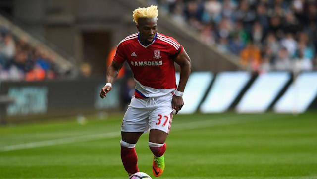 """<p><strong>Transfer: Middlesbrough to Lille</strong></p> <br><p>Ligue 1 side Lille have seen an initial bid for Boro winger Adama Traore <a href=""""http://www.90min.com/posts/5436580-journalist-claims-middlesbrough-star-still-on-cusp-of-ligue-1-move-despite-club-rejecting-10m-bid"""" rel=""""nofollow noopener"""" target=""""_blank"""" data-ylk=""""slk:rejected"""" class=""""link rapid-noclick-resp"""">rejected</a>, with the Championship dismissing the €10m offer. Nonetheless, the former Aston Villa man is still expected to leave the Riverside Stadium this summer.</p>"""