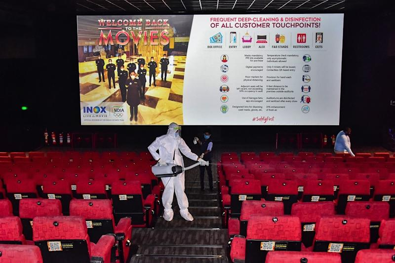 With Stringent Curbs in Place, Cinema Halls Set to Open After 7 Months in New Era of Movie Watching
