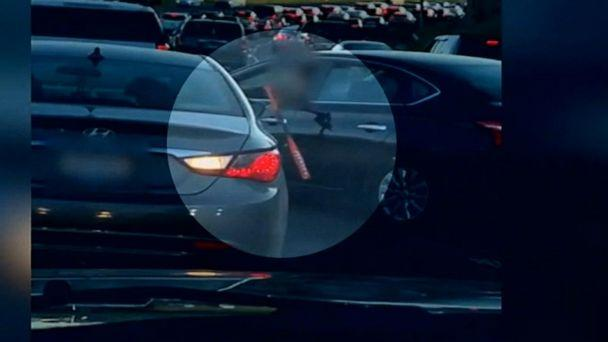 VIDEO: Video shows violent confrontation between drivers in the middle of rush hour traffic (ABCNews.com)