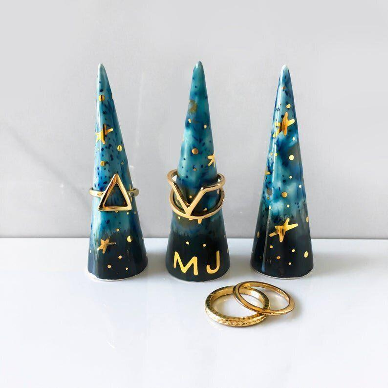 """This cone definitely gets a gold star.&nbsp;<a href=""""https://fave.co/39PaxGz"""" target=""""_blank"""" rel=""""noopener noreferrer"""">Find it for $42 at Etsy</a>."""