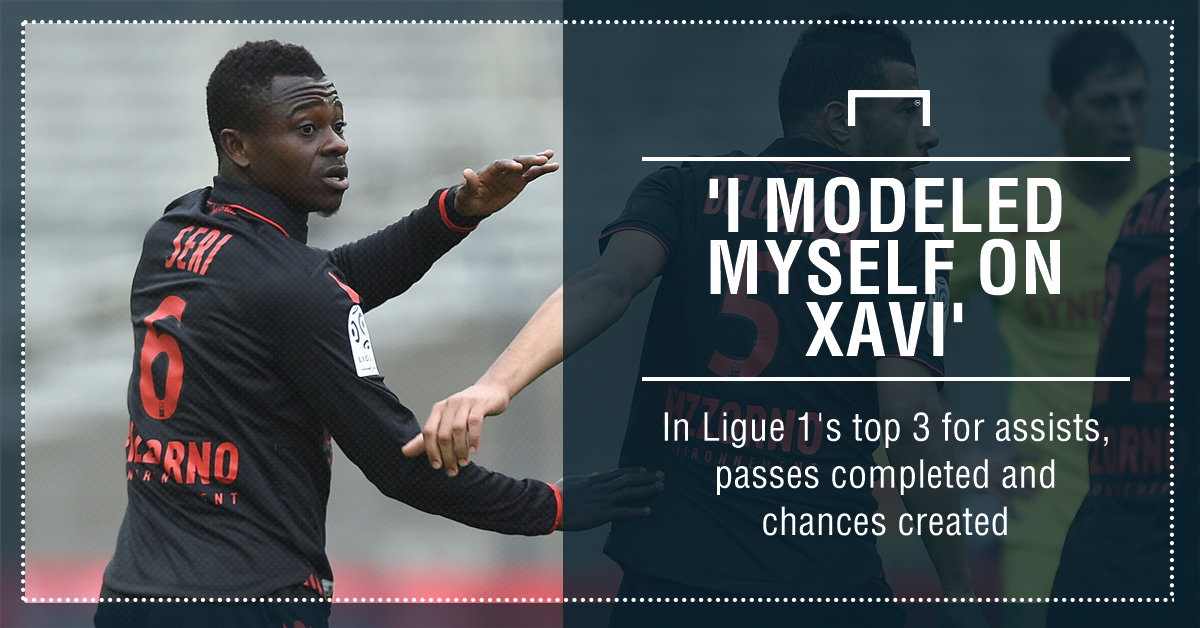 Ranked among Ligue 1's top 3 for assists, passes completed and chances created this season, the Ivory Coast man could be France's best kept secret