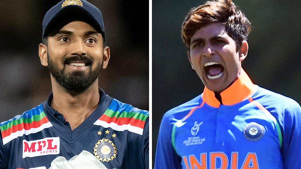 The likes of KL Rahul and Shubman Gill are rumoured to be included in the Indian team for the Boxing Day Test on Saturday. Pictures: Getty Images