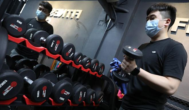 Hong Kong's gyms will be opening for the first time in weeks on Friday. Photo: Nora Tam