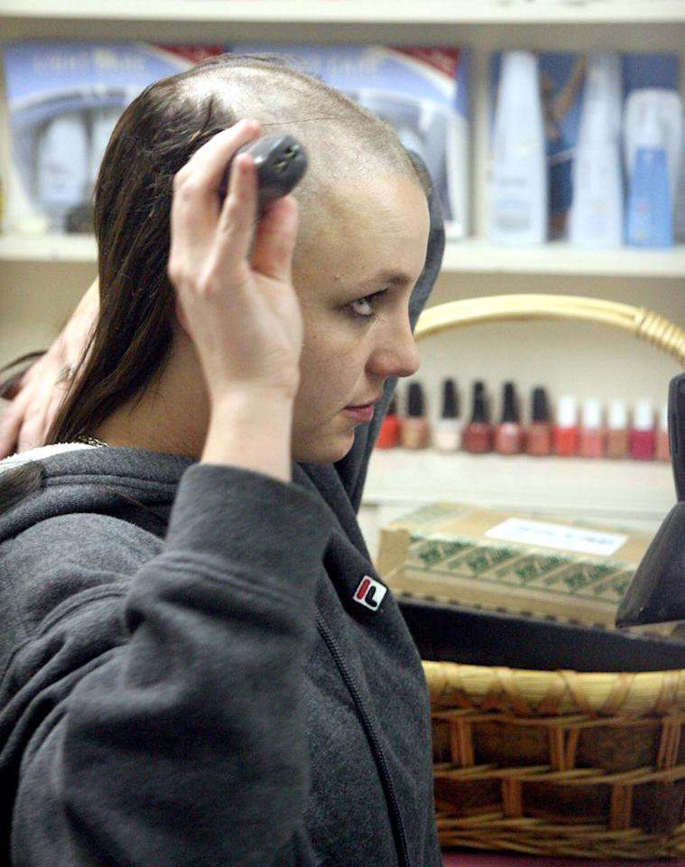 "On the night of February 16, 2007 – nearly a year before Jamie Spears became conservator of his daughter – a wild-eyed Britney walked into Esther's Haircutting Studio in Tarzana, California, and demanded her head be shaved. When owner Esther Tognozzi refused, the singer picked up the shears and said, ""Then I'll do it."" Now, over five years later, Tognozzi says fans <em>still</em> come to her salon wanting to sit in the same chair Britney did, and it's been disruptive to her business. ""We don't answer the phone,"" Tognozzi, who still has Britney's hair, tells omg!. ""And we keep the doors locked,"" even during business hours because tourists stop by all the time. Despite the chaos, Tognozzi adds, ""I'm glad she has her act together now."""