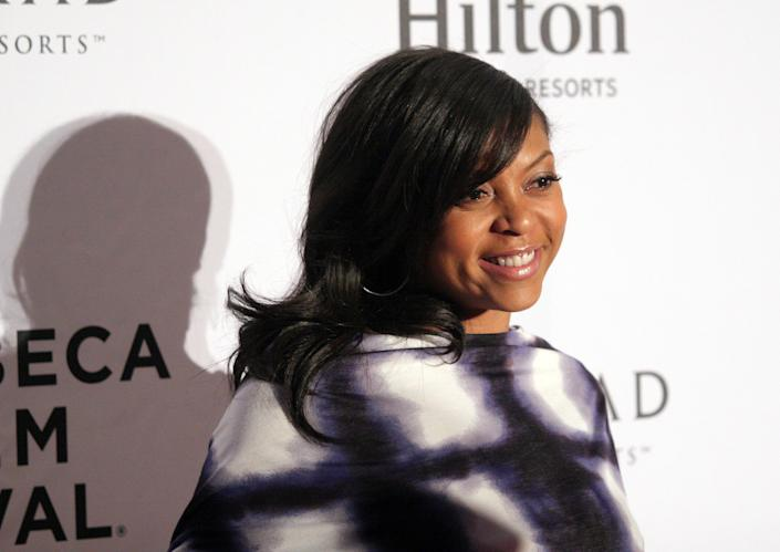 Actress Taraji P. Henson attends the Tribeca Film Festival Awards on Thursday April 25, 2013 in New York. (Photo by Andy Kropa/Invision/AP)