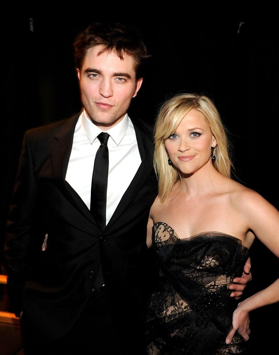 "<p> Just the idea of kissing Robert Pattinson sends millions of tween hearts aflutter. During his on-screen romance with Reese Witherspoon in <em>Water for Elephants</em>, Pattinson developed a nasty cold, complete with a dripping nose. When asked about the snot-filled experience, Reese Witherspoon simply <a href=""http://www.mtv.com/news/1662467/reese-witherspoon-robert-pattinson-kiss-water-for-elephants/"" rel=""nofollow noopener"" target=""_blank"" data-ylk=""slk:said"" class=""link rapid-noclick-resp"">said</a>, ""It wasn't appealing; it wasn't pleasant.""</p>"