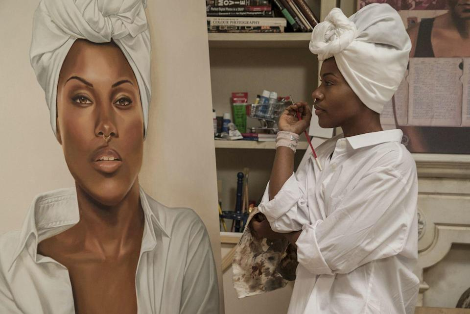 """<p>If Nola Darling wants one thing, it's fun. Based on Spike Lee's breakout 1986 comedy, DeWanda Wise takes on the role of Nola, a """"<a href=""""https://www.youtube.com/watch?v=whvPjWm7ZE0"""" rel=""""nofollow noopener"""" target=""""_blank"""" data-ylk=""""slk:sex-positive, polyamorous pansexual"""" class=""""link rapid-noclick-resp"""">sex-positive, polyamorous pansexual</a>"""" that dates distinct men while she hones in on what makes her happy, ultimately coming to the realization that she's not a freak nor a sex addict.</p><p><a class=""""link rapid-noclick-resp"""" href=""""https://www.netflix.com/title/80117554"""" rel=""""nofollow noopener"""" target=""""_blank"""" data-ylk=""""slk:Watch Now"""">Watch Now</a><br></p>"""