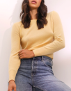 "High-quality cashmere doesn't have to break the bank, as proved by Everlane's best-selling crewneck, available in a range of chic colors. $100, Everlane. <a href=""https://www.everlane.com/products/womens-cashmere-crew-buttercream?collection=womens-premium-cashmere"" rel=""nofollow noopener"" target=""_blank"" data-ylk=""slk:Get it now!"" class=""link rapid-noclick-resp"">Get it now!</a>"
