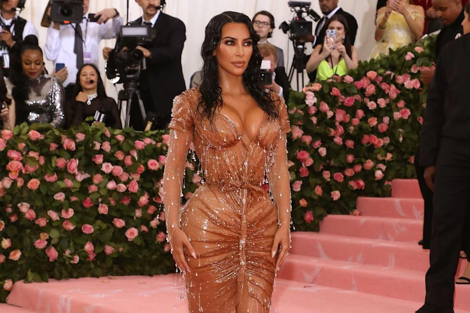 """Kim Kardashian West attends the 2019 Met Gala celebrating """"Camp: Notes on Fashion"""" at The Metropolitan Museum of Art. (Photo by Taylor Hill/FilmMagic)"""