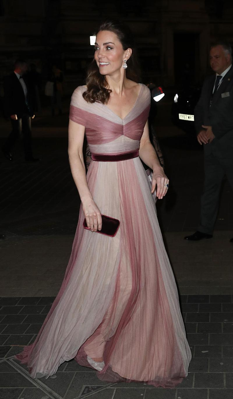 Kate at the 100 Women In Finance Gala Dinner (Getty Images)