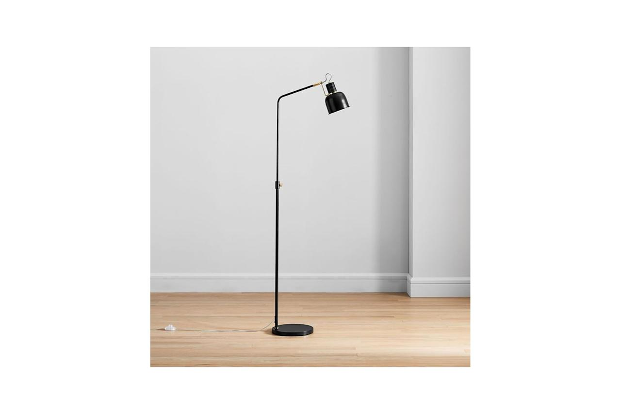 """The Pixar Lamp, but after it's grown up and lived in New York for 5 years. $250, West Elm. <a href=""""https://www.westelm.com/products/clinton-floor-lamp-w3489/?pkey=csale-lighting&isx=0.0"""">Get it now!</a>"""