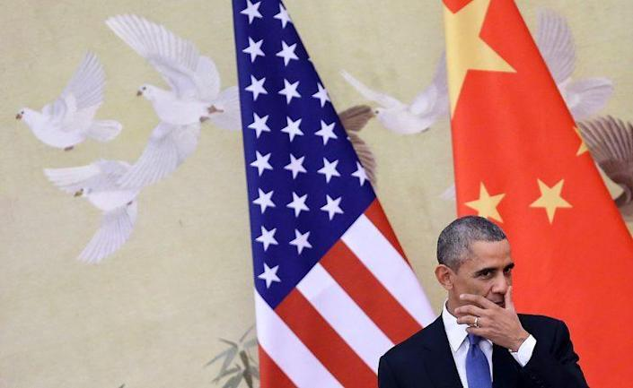 President Obama attends a press conference in November 2014 in Beijing, China. (Photo: Feng Li/Getty Images)