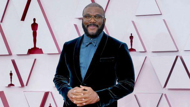 PHOTO: Tyler Perry attends the 93rd Annual Academy Awards at Union Station, April 25, 2021, Los Angeles. (Chris Pizzello-Pool/Getty Images)
