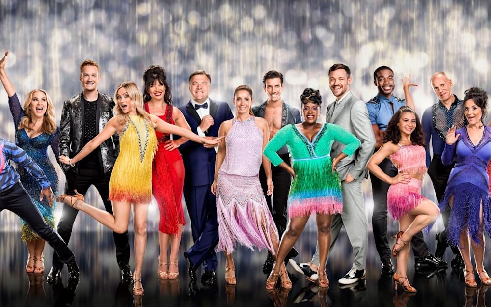 The cast of Strictly for 2016