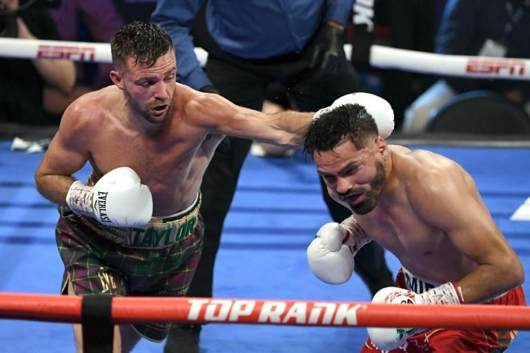 Taylor won by 114-112 scores on all three judges' cards to improve to 18-0 with 13 KOs