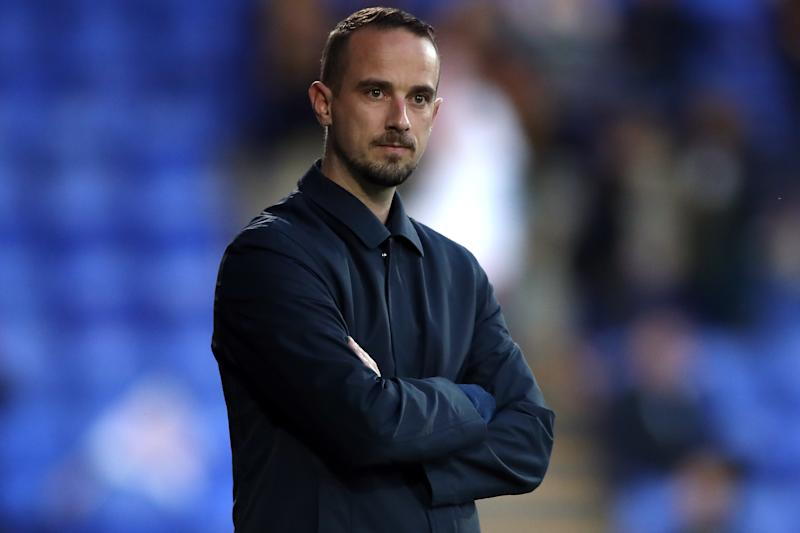England manager Mark Sampson during the FIFA 2019 Women's World Cup qualifying match at Prenton Park, Birkenhead. (Photo by Nick Potts/PA Images via Getty Images)