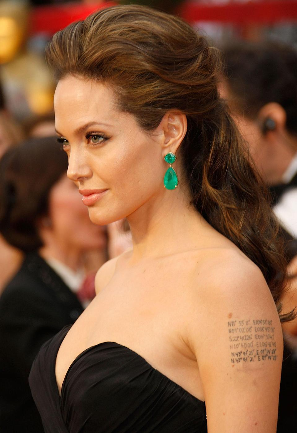 Diamonds aren't the only way to shine: When Angelina Jolie needed earrings with oomph, the actress-director sought out Lorraine Schwartz and a pair of oversized emeralds. The 115-carat drop earrings that served as Jolie's 2015 red carpet gems inspired a wave of imitators and helped to increase demand for boldly colored stones.