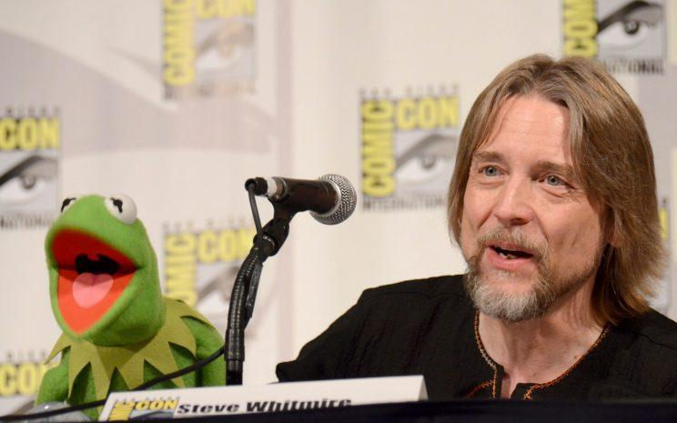 Fired... it appears Kermit actor Steve Whitmire was fired from the role - Credit: PA