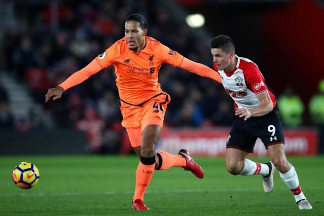 Liverpool's Virgil van Dijk 'enjoyed' being booed on Southampton return